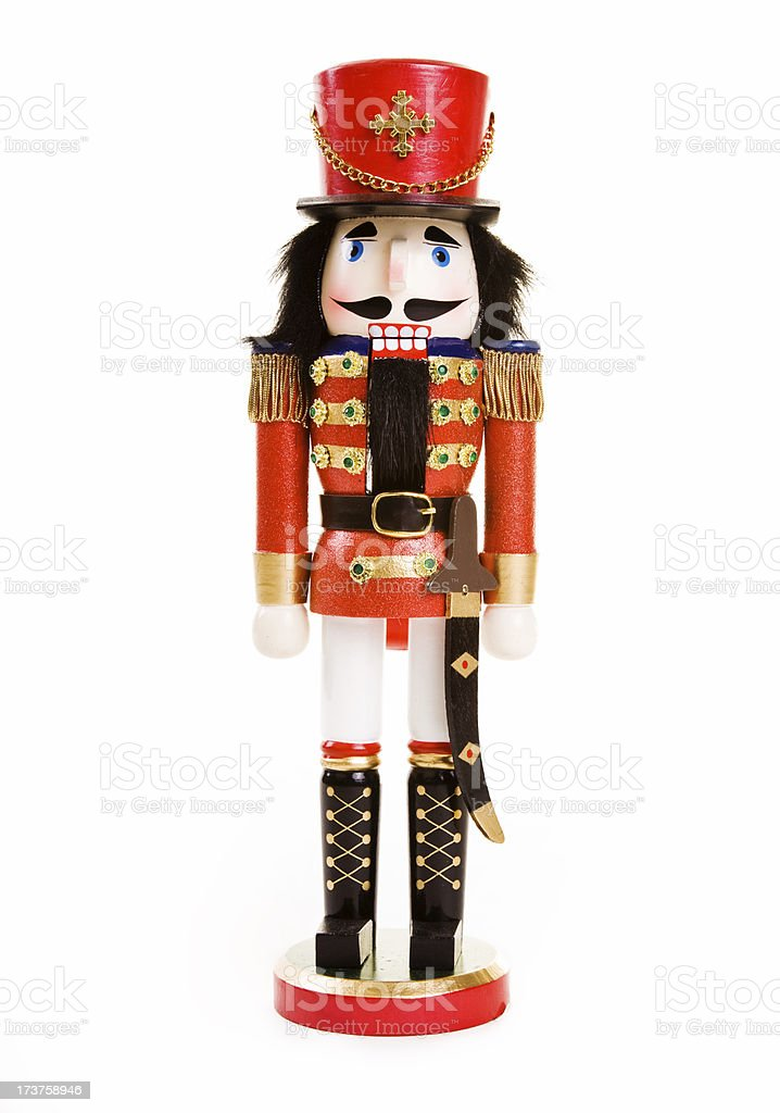 Nutcracker royalty-free stock photo