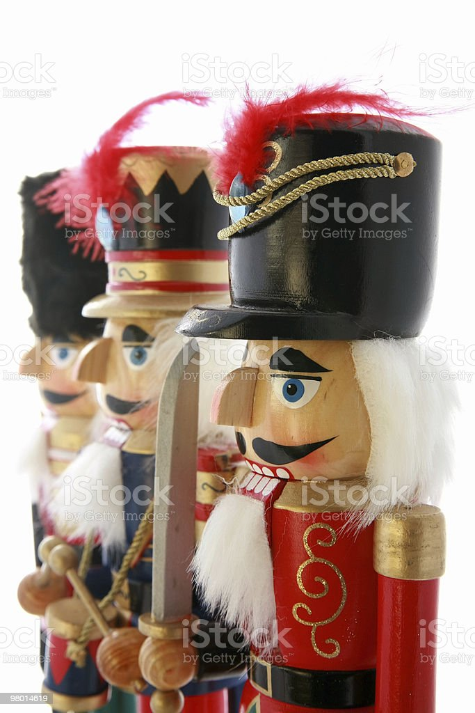 Nutcrackers royalty-free stock photo
