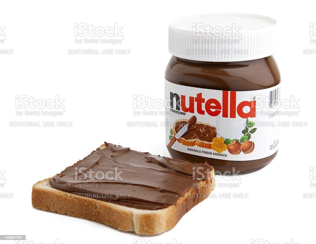 Nutella stock photo