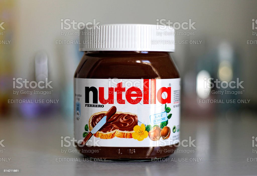 Nutella royalty-free stock photo