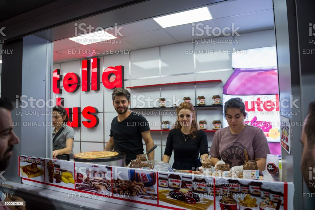 Nutella Plus Store In Erbil Iraq Stock Photo More Pictures Of