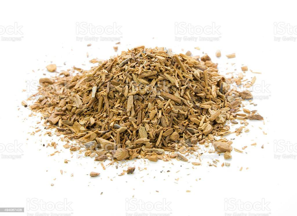 nutmeg spice stock photo