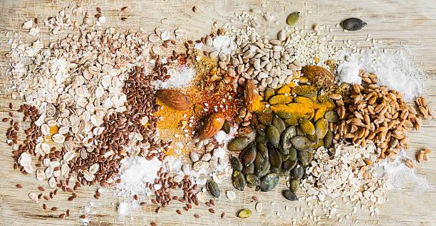 nutrition ingredients - zout smaakstof stockfoto's en -beelden
