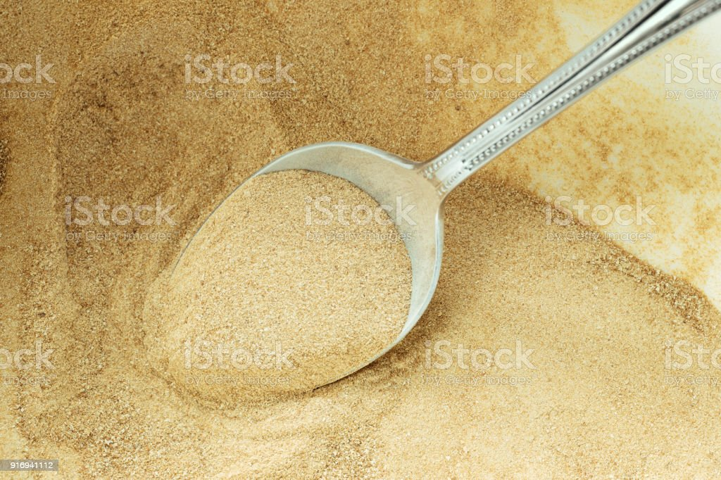 Nutritional Brewer's Yeast stock photo