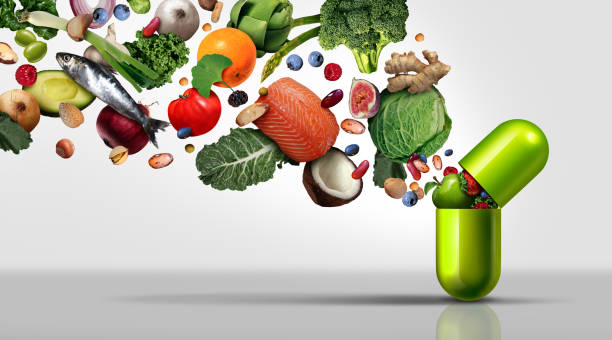 Nutritional Supplement stock photo