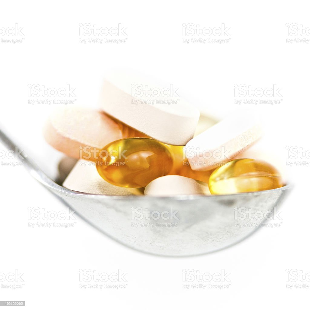 Nutritional Supplements royalty-free stock photo