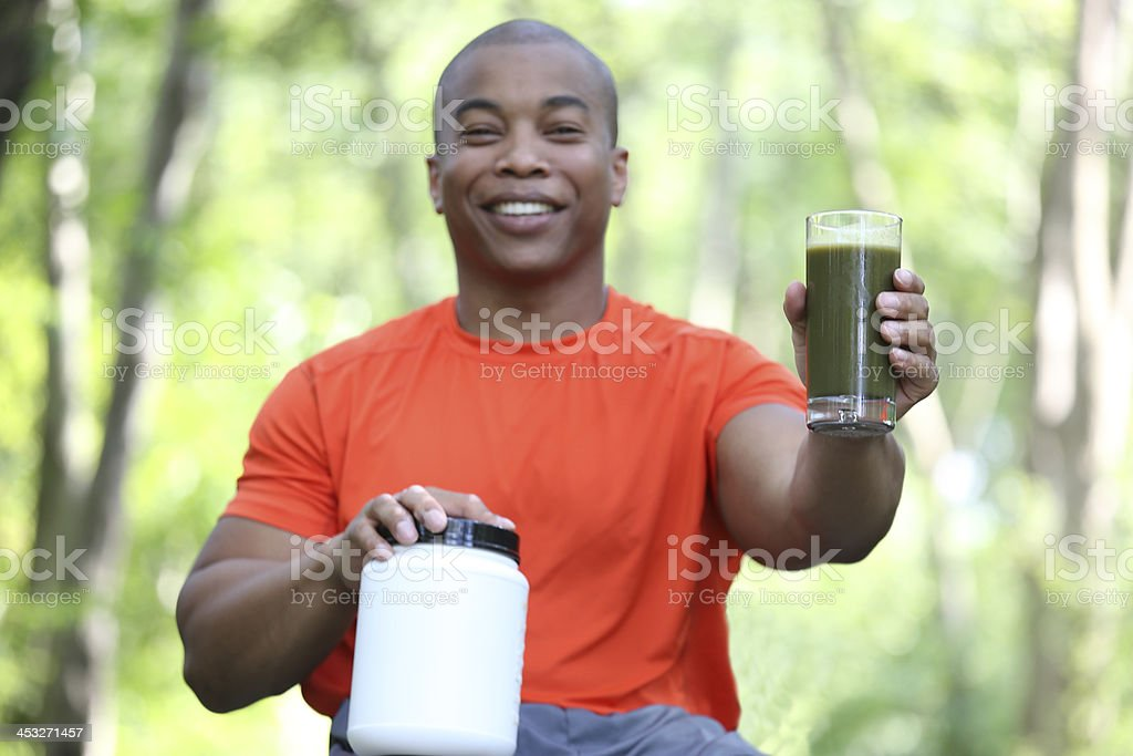 nutritional suppliments stock photo