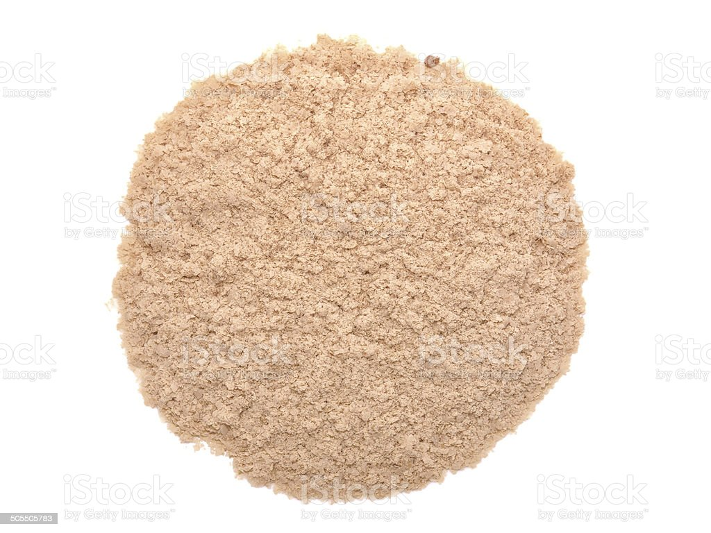 Nutritional yeast (deactivated yeast) stock photo