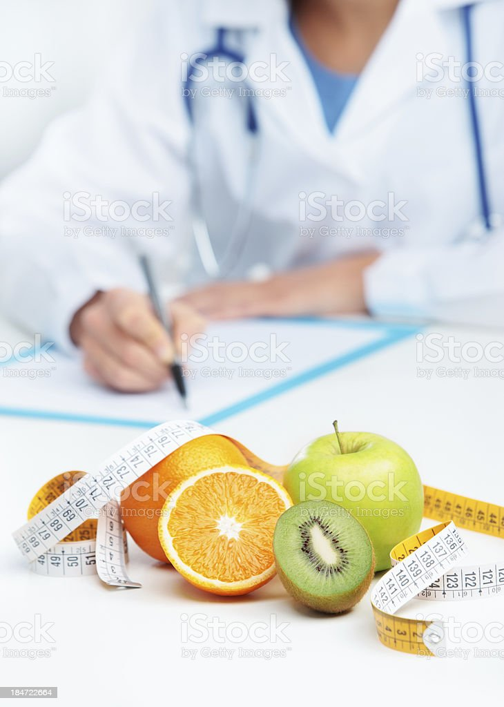 Nutritionist Doctor stock photo
