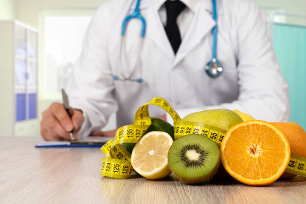 nutritionist doctor prescription - dietician stock pictures, royalty-free photos & images
