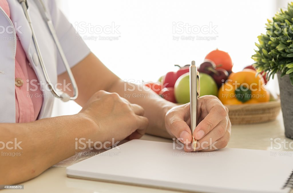 nutritionists stock photo