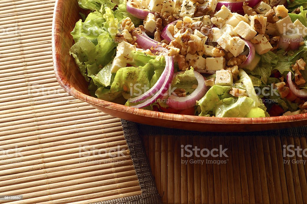 Nutritious greek salad royalty-free stock photo