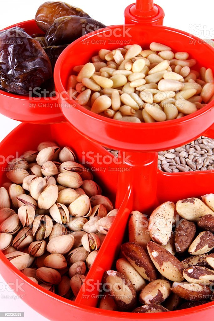nuts 2 royalty-free stock photo