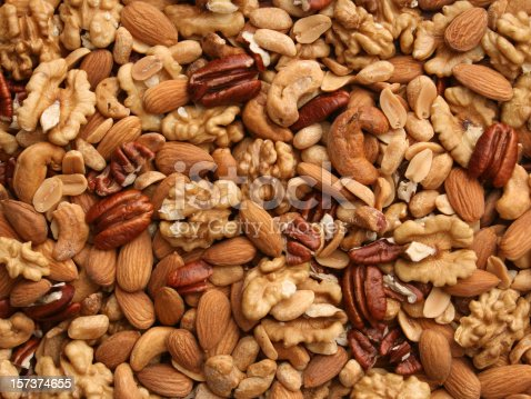 istock Nuts background 157374655