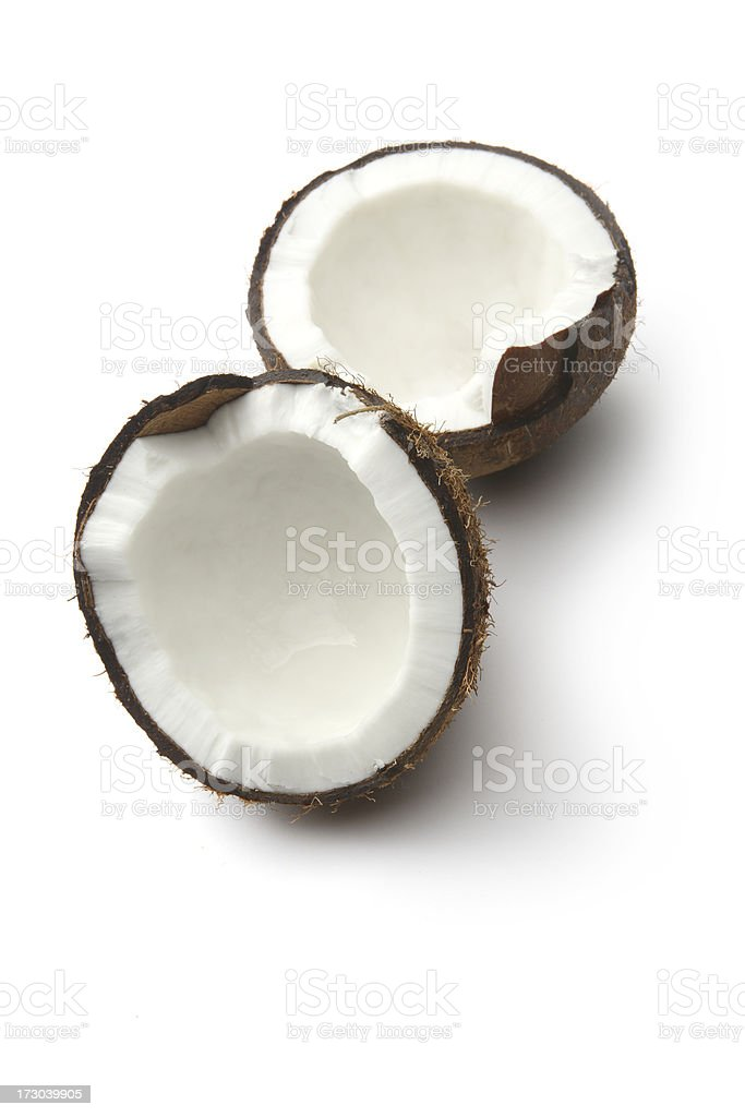 Nuts: Coconut royalty-free stock photo