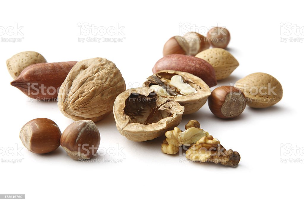 Nuts: Collection royalty-free stock photo