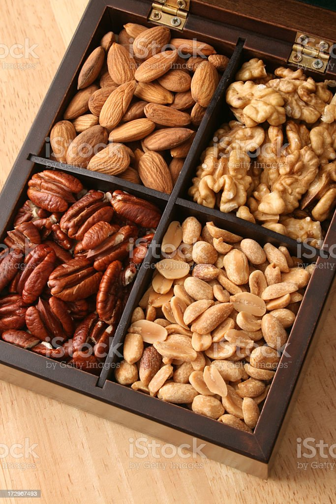 Nuts royalty-free stock photo