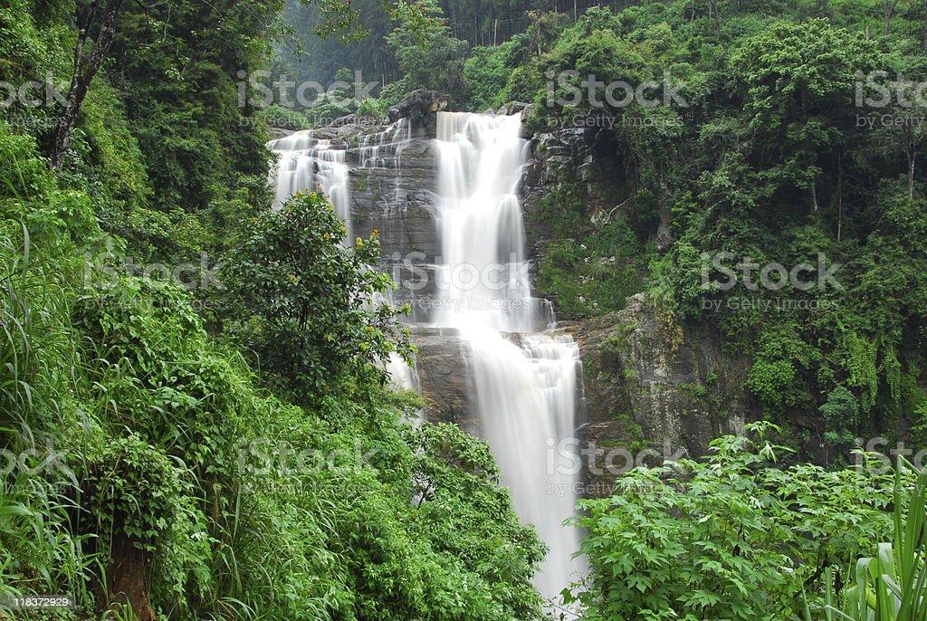 Nuwara Eliya Waterfalls stock photo