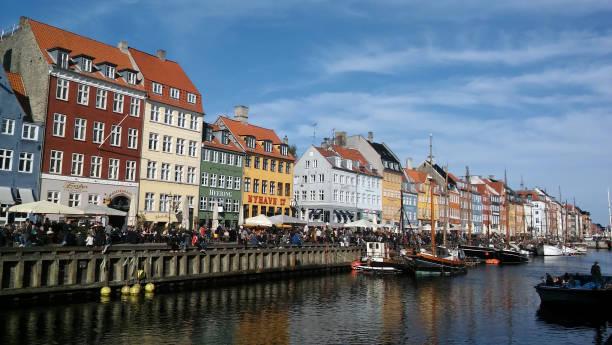 Nyhavn, Copenhagen Denmark stock photo