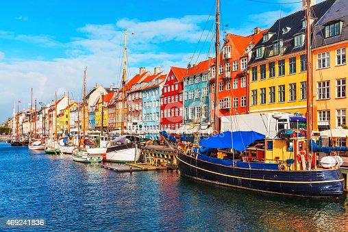 istock Nyhavn, Copenhagen, Denmark 469241836