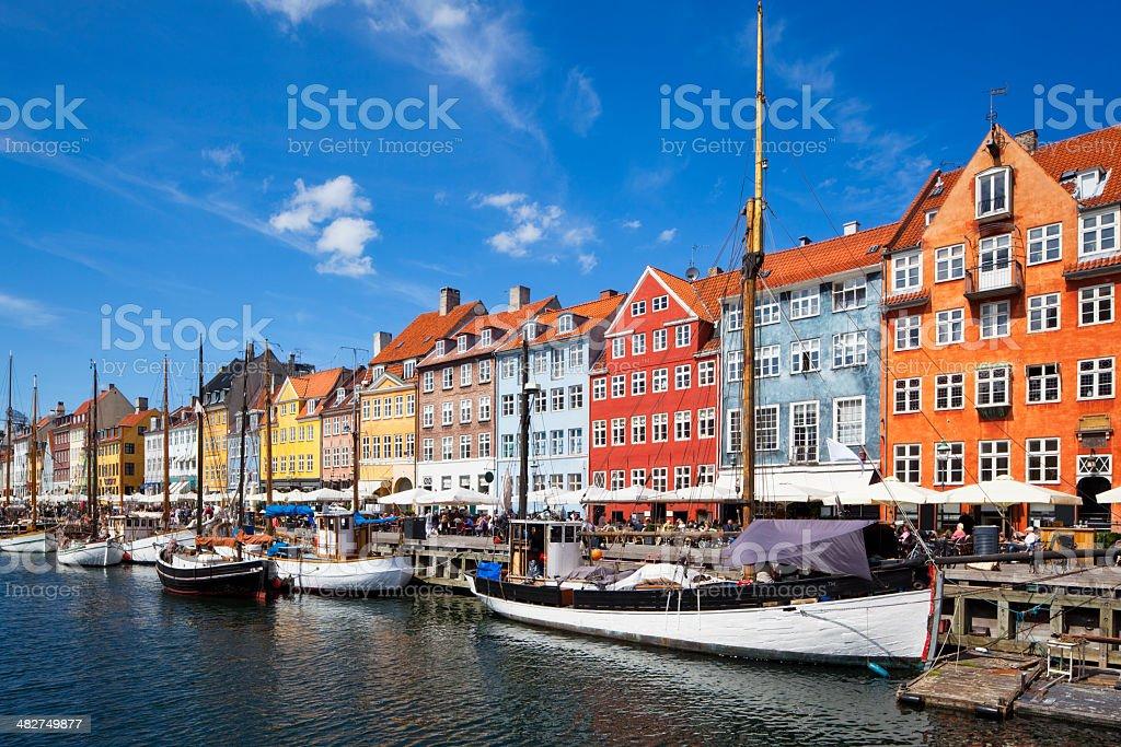 Nyhavn - Copenhagen royalty-free stock photo