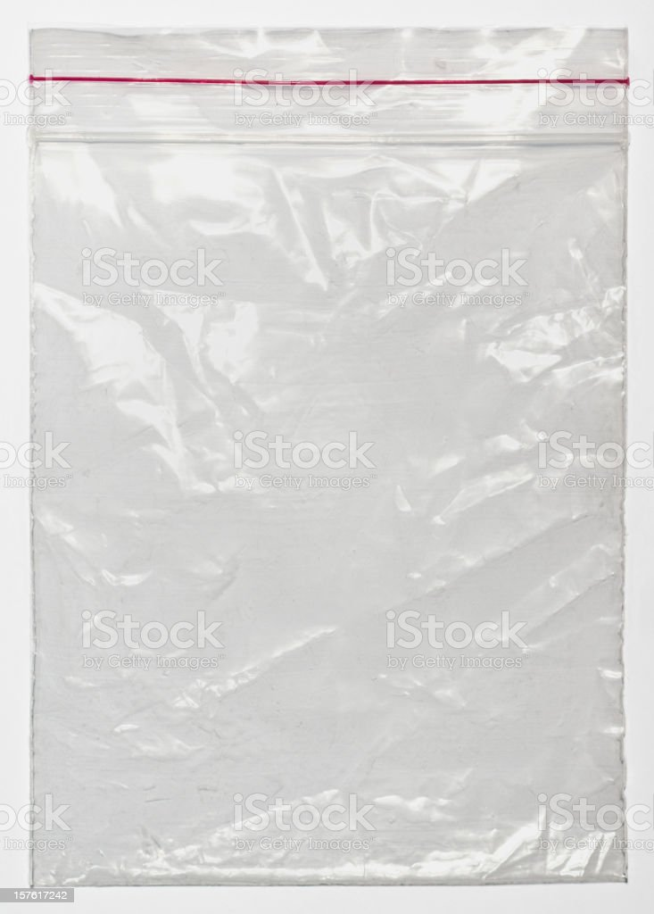 Nylon bag stock photo