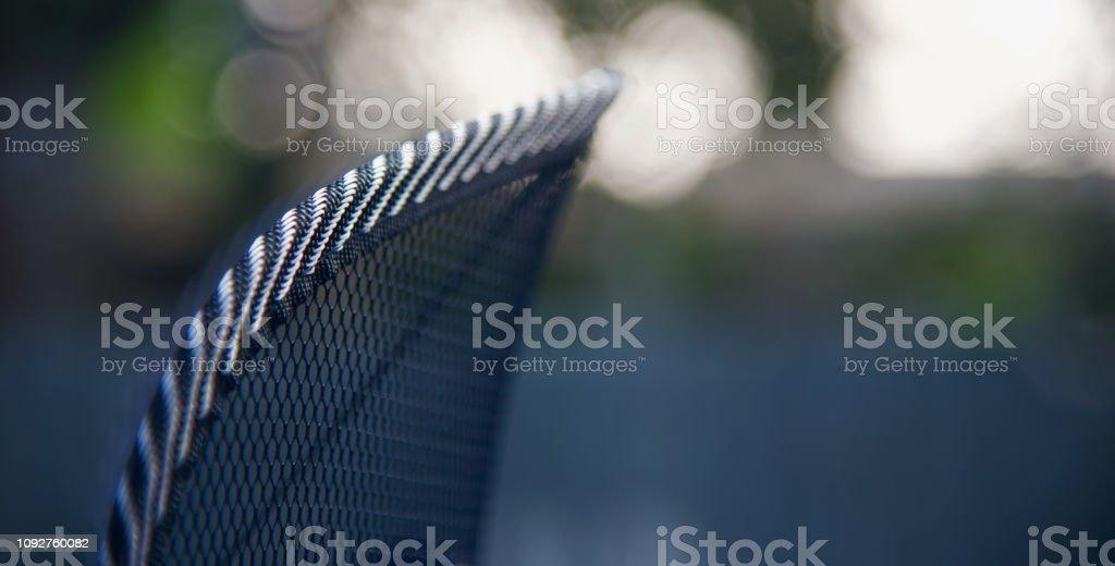 Nylon made stitches of a nets object unique photo stock photo