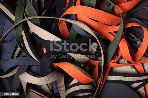 istock Nylon tubular webbing. 935774064