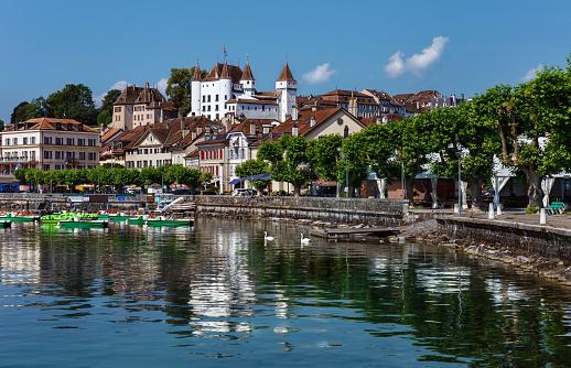 Nyon embankment - Switzerland