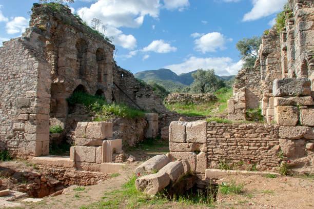 Nysa ancient city ,Sultanhisar,Aydin,Turkey stock photo