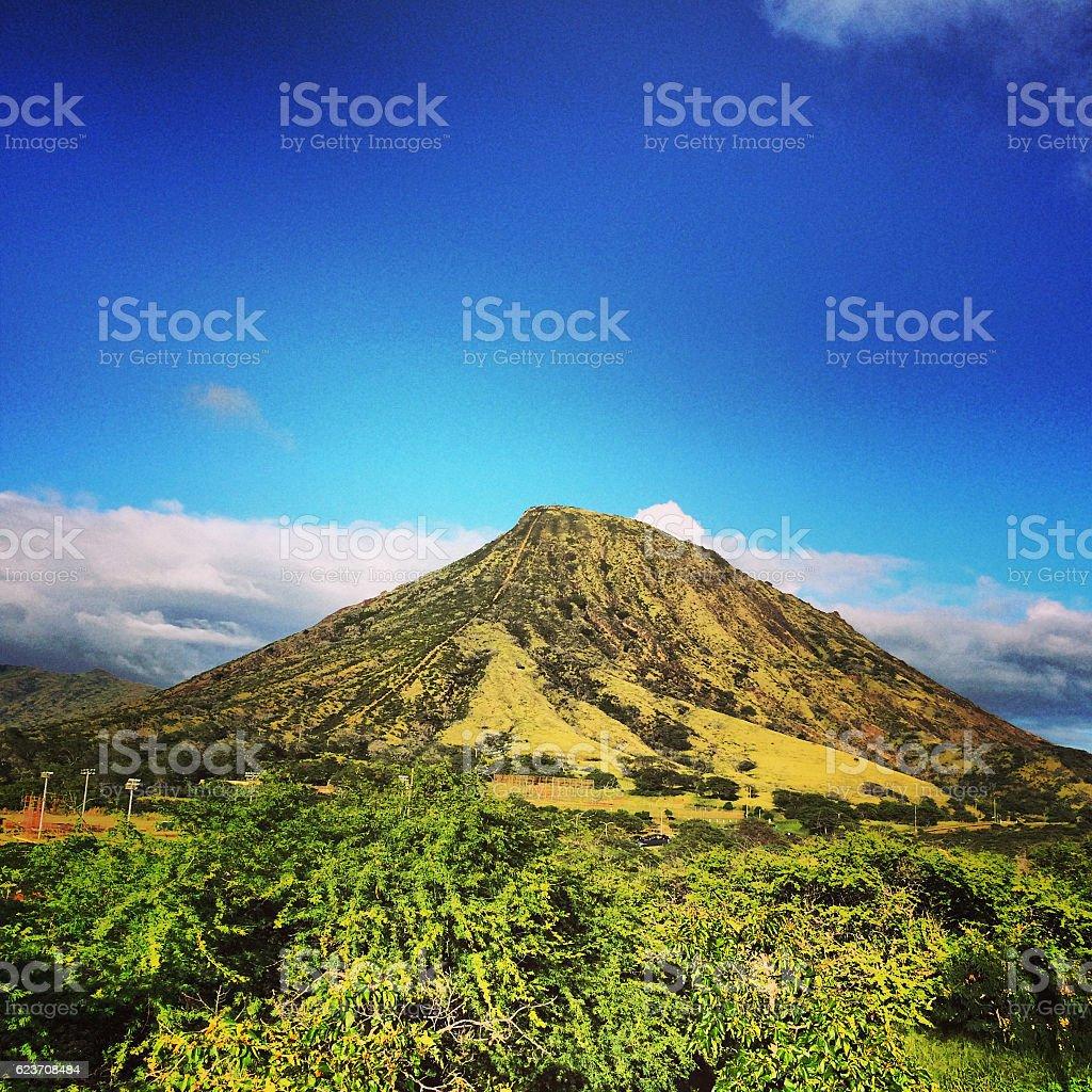Oahu Landscape, Hawaii, USA stock photo