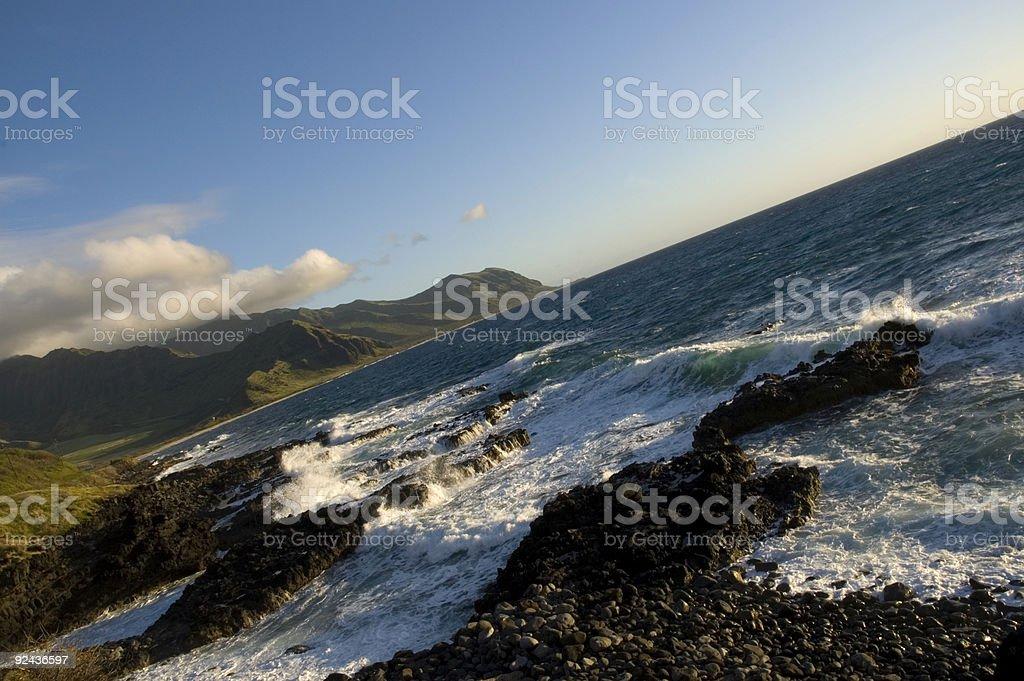 Oahu Landscape stock photo