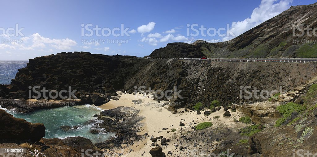 Oahu royalty-free stock photo