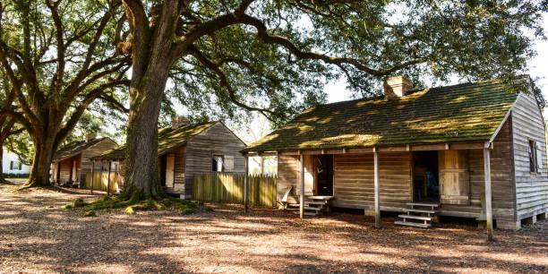 Oak Alley Plantation stock photo