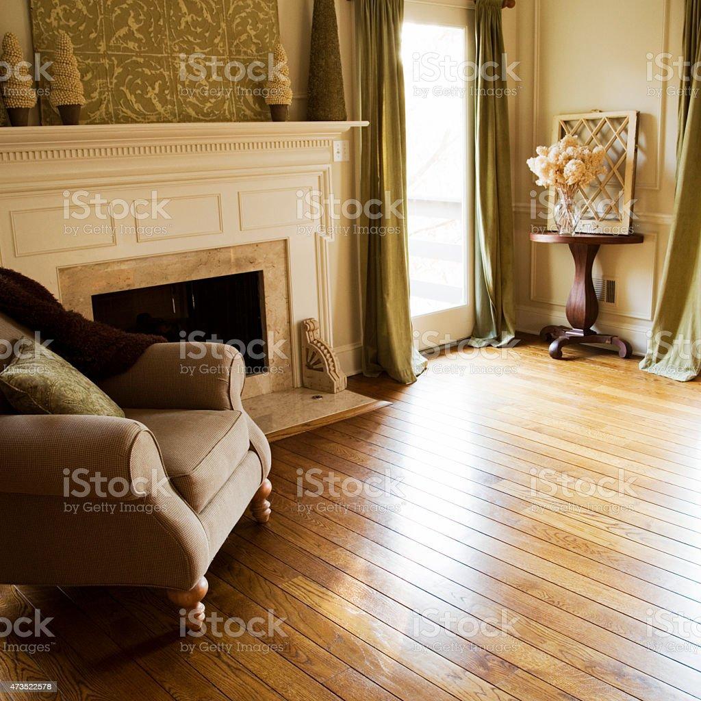 Oak Flooring stock photo