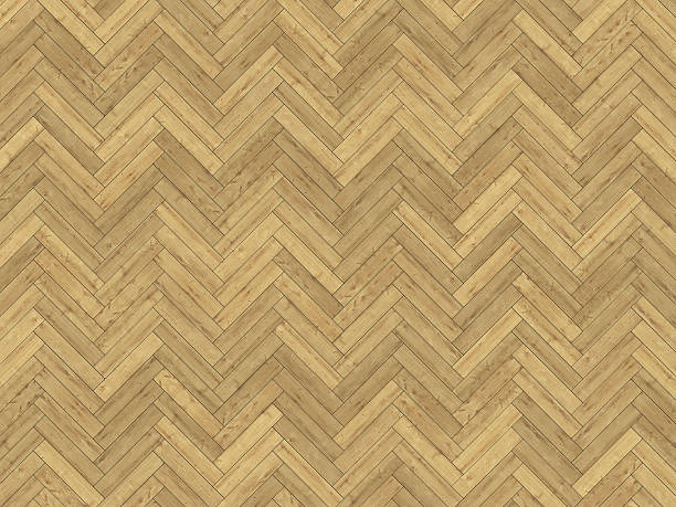 oak herringbone parquet texture stock photo