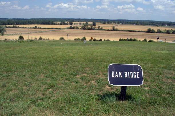 Oak Ridge Schlacht Feld Gettysburg PA – Foto