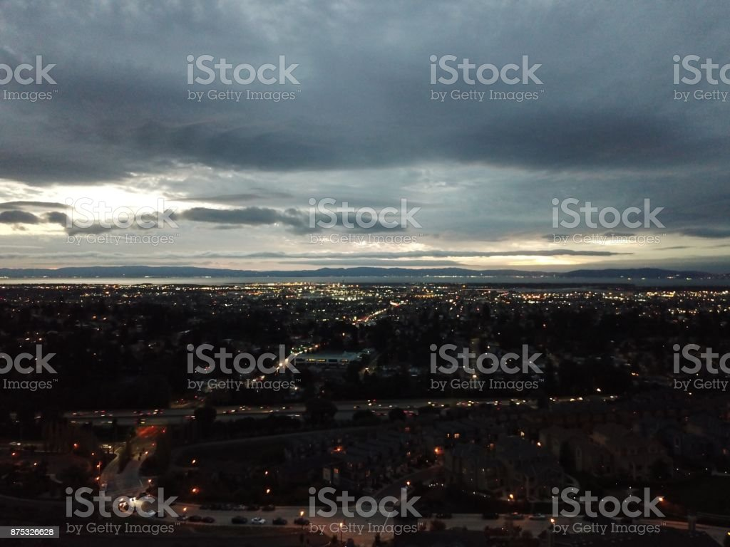 Oakland aerial view stock photo