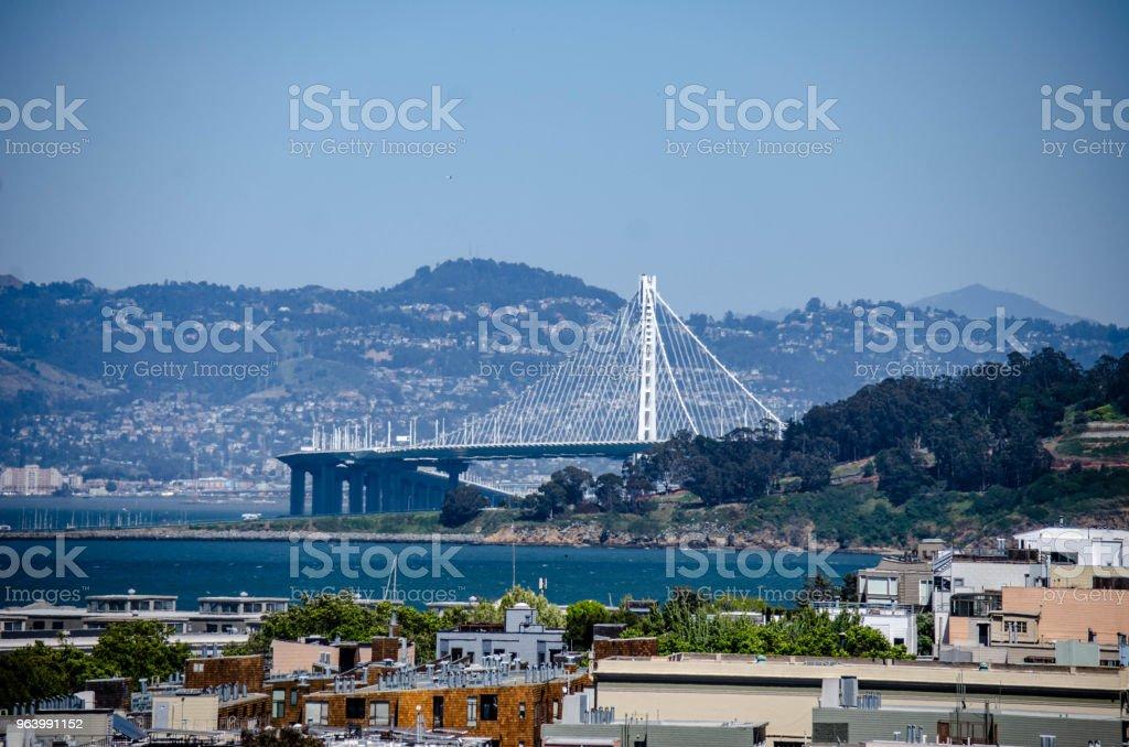Oakland Bridge - Royalty-free Architecture Stock Photo