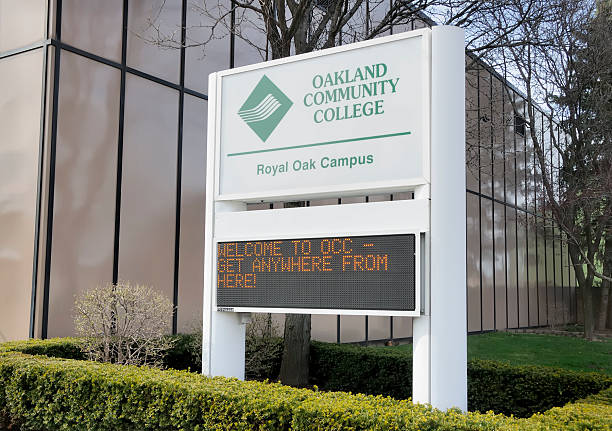 Occ Royal Oak Campus Map.Royalty Free Oakland Community College Pictures Images And Stock