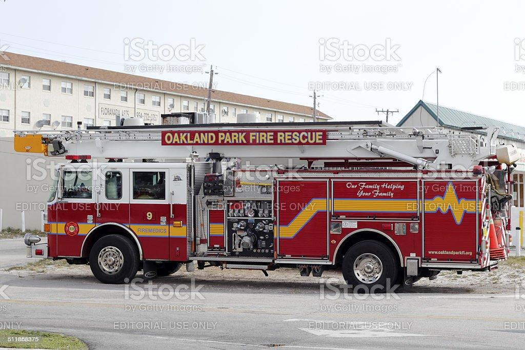 Fort Lauderdale, Florida, USA - February 13, 2013: One long Oakland...