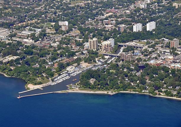 Oakville Marina, Luftaufnahme – Foto