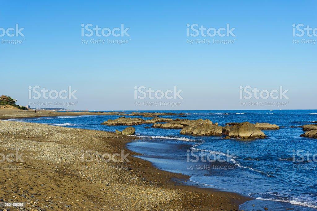 Oarai Coast, Ibaraki ストックフォト