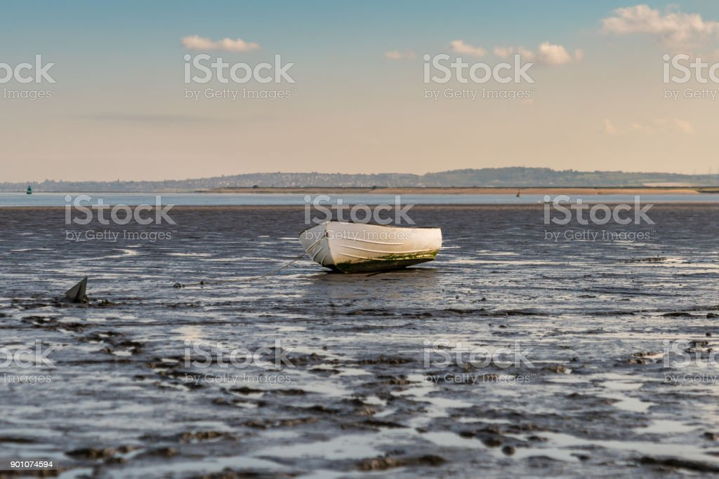 Oare Marshes, England, UK stock photo