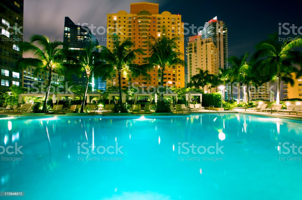 Oasis in the heart of city royalty-free stock photo