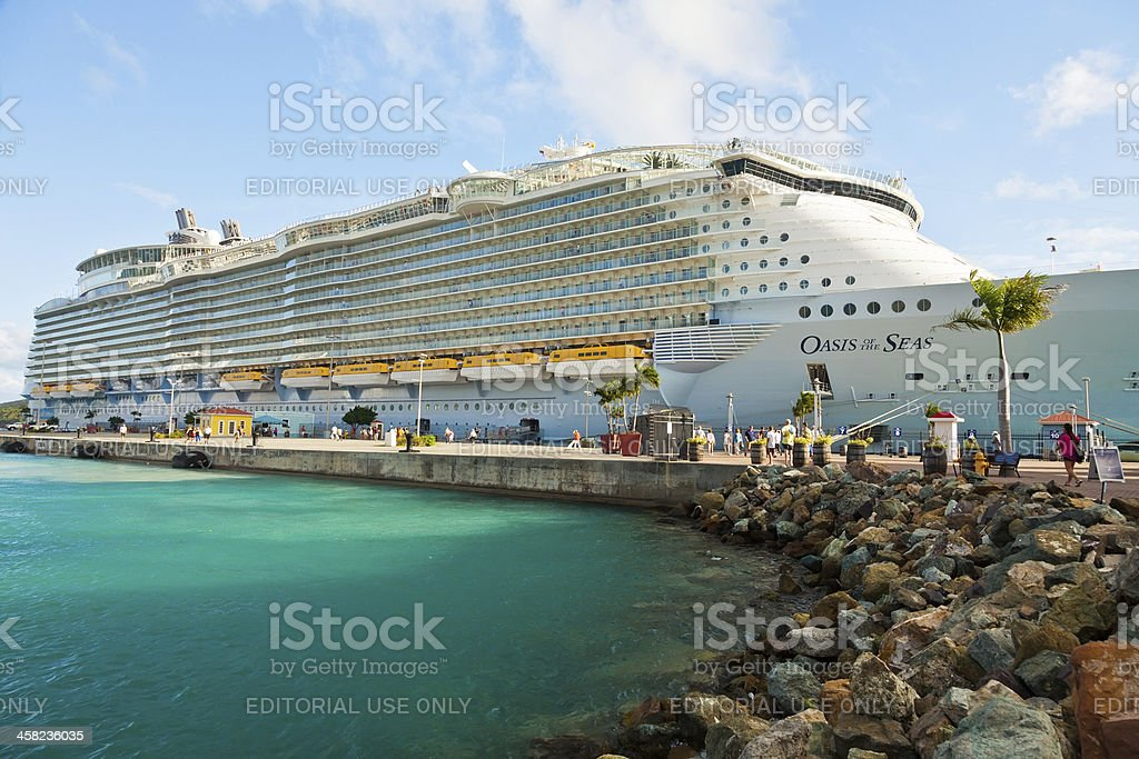 Oasis of the Seas royalty-free stock photo