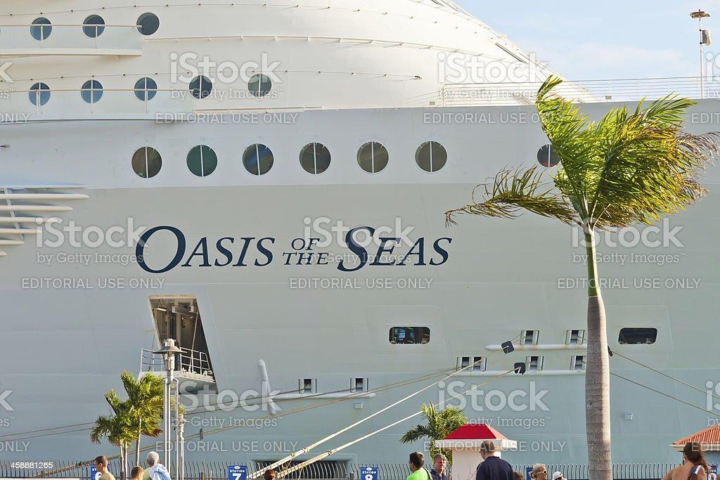 Oasis of the Seas royalty-free stock photo