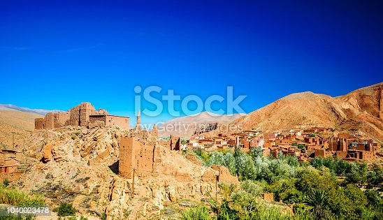 istock Oasis of Tinerhir next to Dades in Morocco 1040023478