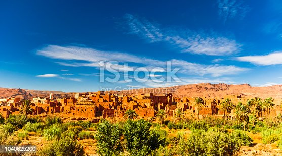 istock Oasis of Tinerhir next to Dades in Morocco 1040625200