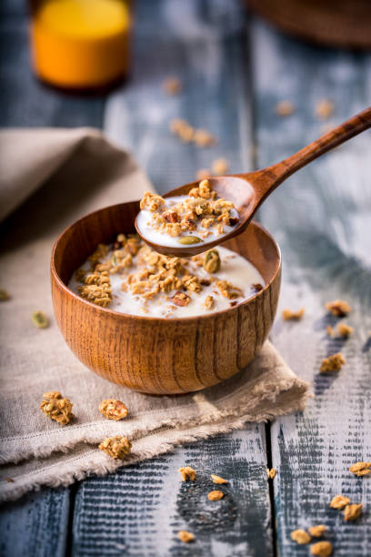 Oat Breakfast - foto stock